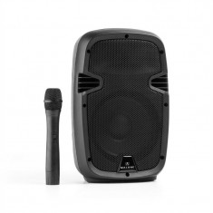 Malone Buschfunk 20 Activ PA Difuzor 400W Bluetooth Baterie USB SD MP3 VHF - Stativ Microfon