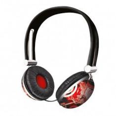 TRUST Urban Revolt Headset - Midnight Magic, Casti On Ear, Cu fir, Mufa 3, 5mm