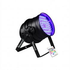 Beamz LED PAR 64 LED-uri efect de iluminat DMX RGB IR - Efecte lumini club