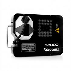Beamz S2000 Mașină fum și ceață DMX LED lumini (530mA³/min) - Masina de fum