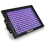 Beamz LCP192UV LED stroboscop-panel efect de lumină panou 192 UV cu LED-uri 3 canale DMX - Lumini club