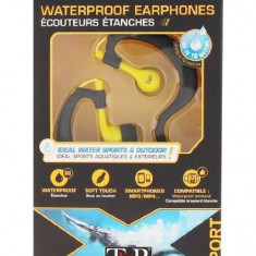 TNB SPORT WATERPROOF EARPHONES IPX8 FULL IMMERSION, Casti In Ear, Cu fir, Mufa 3, 5mm