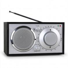 Radio Bucătărie OneConcept 1960 Stil Retro - Negru - Aparat radio