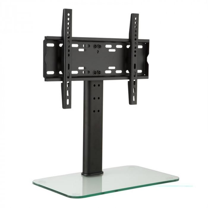 Auna stativ TV Dimensiune M Inaltime 56 cm inaltime reglabila tulpina 23-47 inch foto mare