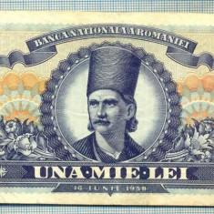 A1128 BANCNOTA-ROMANIA- 1000 LEI- 18 IUNIE 1948-SERIA 2563-starea care se vede - Bancnota romaneasca