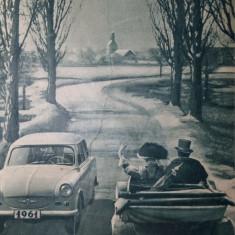 REVISTA AUTO MOTOR UNGARIA - AN 1961 LEGATE 24 DE NUMERE - MASINI RETRO VINTAGE