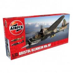 Kit Aeromodele Airfix 4017 Avion Bristol Blenheim Mkiv Fighter Scara 1:72 - Jocuri arta si creatie