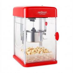 OneConcept Rockkorn 350W, aparat de popcorn, 23, 5 x 38, 5 x 27 cm - Aparat popcorn
