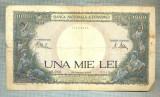 A1193 BANCNOTA-ROMANIA-1000 LEI-23 MARTIE 1943 -SERIA 2968-starea care se vede