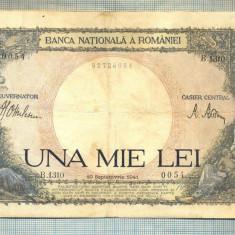 A1115 BANCNOTA-ROMANIA-1000 LEI-10 SEPTEMVRIE1941-SERIA 1310-starea care se vede