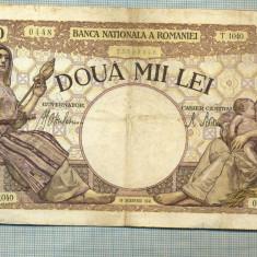 A1180 BANCNOTA-ROMANIA-2000 LEI- 18NOIEMVRIE 1941-SERIA1040-starea care se vede - Bancnota romaneasca
