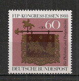 Germania.1980 Congres FIP Essen  SG.407