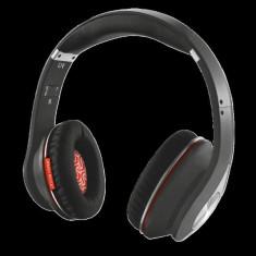 TRUST FENIX BLUETOOTH WIRELESS HEADPHONE - BLACK, Casti On Ear, Active Noise Cancelling