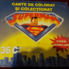CARTE DE COLORAT SI COLECTIONAT SUPERMAN 2000 - Carte educativa
