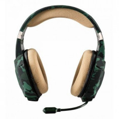 TRUST GXT 322C GAMING HEADSET - GREEN CAMOUFLAGE - Casti PC