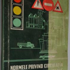 Normele privind circulatia pe drumurile publice - 1966 - Carti Transporturi