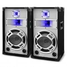Pereche boxe pasive Skytec alb 2x400W, Boxe compacte