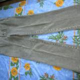 Pantaloni Velur BRAX Feelgood Marimea 52 Noi, poze reale Model: Eric CT-WA, Crem, Lungi