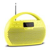 Trevi KB 308 BT Radio Digital Boombox Bluetooth galben microSD USB - Combina audio