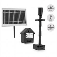 Blum Feldt Waterworks 500 Pompa de apa Fountain solar 500l / h Indicator baterie