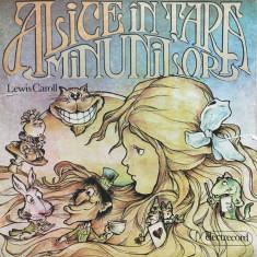 ALICE IN TARA MINUNILOR - Lewis Caroll - DISC VINIL - Muzica pentru copii