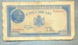 A1134 BANCNOTA-ROMANIA-5000 LEI- 2 MAI 1944-SERIA0168661-starea care se vede