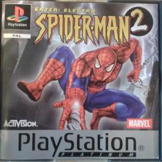 Vand jocuri PS1, PLAYSTATION 1, colectie, SPIDER MAN 2 - Joc PS1 Ea Games, Actiune, Single player, 12+