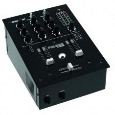 Mixer DJ Battle Omnitronic STPM-222 pe 2 canale - Mixere DJ