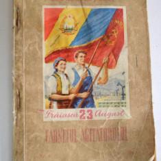 Carnetul agitatorului- P. M. R. Brasov Nr. 8 - 1961 - Carte Epoca de aur