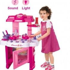 Bucatarie de jucarie cu sunete si lumini - Cadoul perfect pentru fetite!