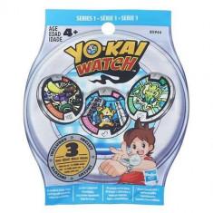 Set 3 Medalii Yo-Kai In Punguta - Vehicul Hasbro