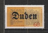 Germania.1980 100 ani Lexiconul Duden  SG.390, Nestampilat