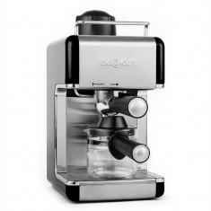 ONEconcept Sagrada Nera oțel aparat espresso portfiltrului 800W 3,5 bar 4 cesti