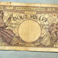 A1182 BANCNOTA-ROMANIA-2000 LEI- 18NOIEMVRIE 1941-SERIA0061-starea care se vede - Bancnota romaneasca
