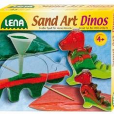 Joc Creativ Dinozauri Cu Nisip - Jocuri arta si creatie Lena
