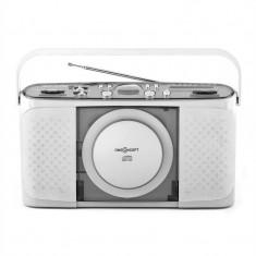 OneConcept Boomtown-Garden, CD player portabil, MP3, USB, radio