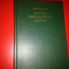 NOVUM TESTAMENTUM LATINE( VULGATA) - Biblia