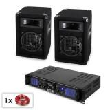 """PA Set """"Malone Spl 6.5"""" Boxe AMP MP3"""