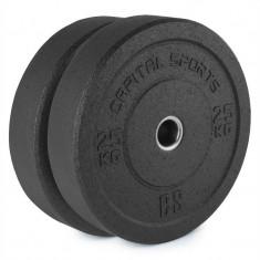 Capital sport Renit Hi placă greutate 50.4 mm miez de aluminiu, cu cauciuc 2x 25 kg