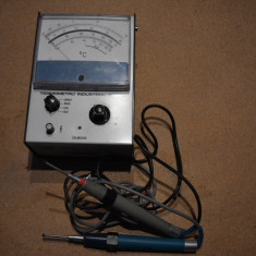 Termometru profesional cu sonde de imersie