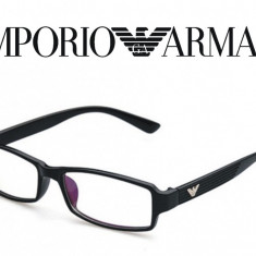 Rame de ochelari Armani - negru cu brate rosii 117726 - Rama ochelari Emporio Armani