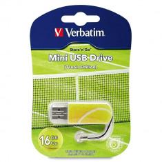 Verbatim USB 2.0 MINI DRIVE 16 GB TENNIS EDITION