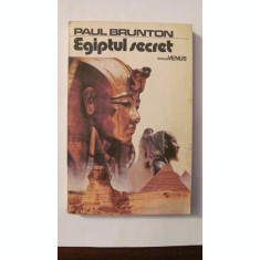 "CY - Paul Brunton ""EGIPTUL SECRET"""