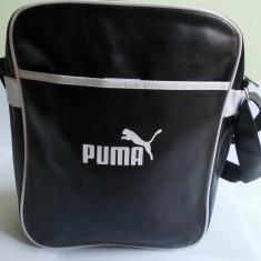 Borseta Puma - Geanta Barbati Puma, Marime: Medie, Culoare: Negru
