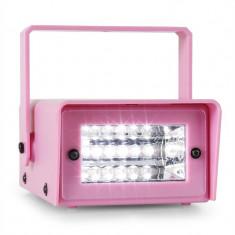 OneConcept Mini Strobe Mini-LED-Stroboskop pink - Stroboscop club