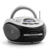 MAJESTIC AUDIOLA AHB-0388, BOOMBOX PORTABIL, CD, USB, MP3, AM / FM, casetă - CD player
