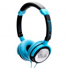 IDance Crazy 501 Căști albastru-negre - Casti DJ