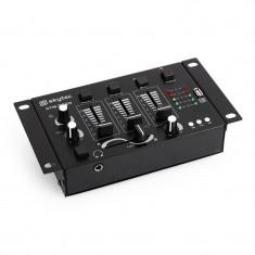 Skytec STM-3020, DJ mixer 3/2 canale, intrare MP3, USB - Mixere DJ