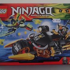 Lego Ninjago 70733 Blaster Bike Motocicletă cu explozoare Original Nou Sigilat