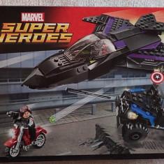 Lego Super Heroes 76047 Urmarirea Panterei Negre Black Panther Pursuit Original